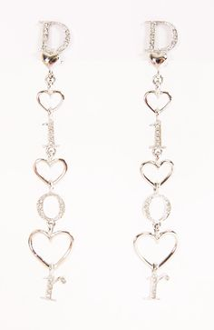 CHRISTIAN DIOR EARRINGS @Michelle Coleman-HERS