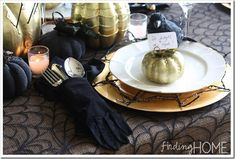 Finding Home Halloween Place Setting copy