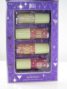 Pixi Icy Lip Luster. Only found @ target. Ask your local target beauty concierge about what else Pixi has to offer!