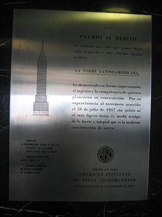 Placa aisc torre latino - Torre Latinoamericana - Wikipedia Business Class, Geology, Foundation, July 28, Towers, Foundation Series