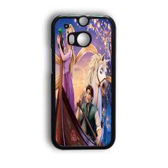 Disney Tangled Princess Rapunzel Digital HTC One M8 Case