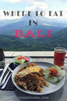 A list of the where to eat in Bali, including local authentic warung for Babi Guling, Ayam, to proper restaurant like Bumbu Bali.
