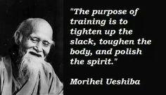 The Japanese Martial Art of Aikido: gyaku hamni katatetori ikkyo omote waza variation - All of MMA Great Quotes, Quotes To Live By, Life Quotes, Inspirational Quotes, Warrior Quotes, Warrior Spirit, Judo, Jiu Jitsu, Karate Quotes