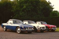 MGB 1960s.  When you've restored one, might as well as do a couple more...