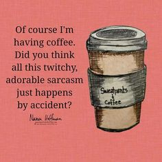 coffee humor Brought to you by coffee. Coffee Wine, Coffee Talk, Coffee Is Life, I Love Coffee, Coffee Break, My Coffee, Coffee Cups, Morning Coffee, Coffee Shop