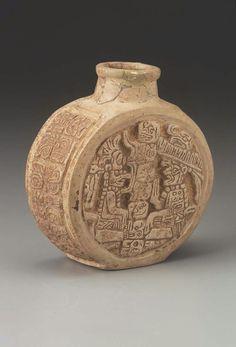 MIniature bottle Maya , A.D. 650–800. -1
