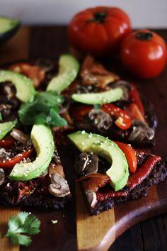 This Rawsome Vegan Life: ULTIMATE RAW VEGAN PIZZA (LOW-FAT, OIL-FREE, SALT-FREE)