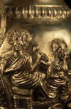 Silver Jug-detail. The Rogozen treasure Thracian