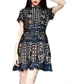 9e39dfdf8b9 Amazon.com  Celebritystyle womens lace peplum dress knee length (M