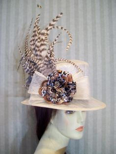 Mauve Kentucky Derby Hat