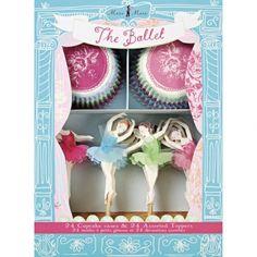 MyPaperSet - Cupcake Set Ballerina von Meri Meri