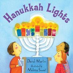 Hanukkah Lights by David Martin, Melissa Sweet (Illustrator) http://www.bookscrolling.com/the-28-best-hanukkah-books/ #besthanukkahbooks #bookscrolling
