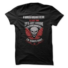 (Tshirt Suggest Design) Awesome Firefighter Shirt at Tshirt Army Hoodies