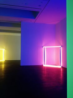 davidurbanke: Dan Flavin exhibit at David Zwirner. Neon Lighting, Modern Lighting, United Visual Artists, Art Intervention, Dan Flavin, Lights Artist, Neon Light Signs, Light And Space, Modern Love