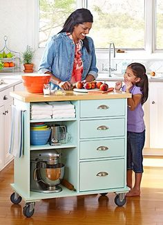 68 Ideas For Kitchen Island Diy Dresser Counter Space counter Diy Dresser Id Ideas For Kitchen Island Diy Dresser Counter Space counter Diy Dresser Id . 68 Ideas for Kitchen Island Diy Dresser Counter Small Kitchen Cart, Kitchen Island On Wheels, Diy Kitchen Island, Diy Kitchen Storage, Kitchen Organization, New Kitchen, Space Kitchen, Kitchen Ideas, Kitchen Island Against Wall