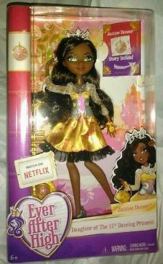 EVER AFTER HIGH NEW 3 DOLL LOT JUSTINE DANCER MELODY PIPER FARRAH GOODFAIRY NIB
