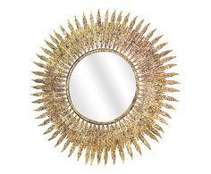 Spiegel Tina, goud, Ø 63 cm