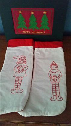 Boy/girl cotton stocking