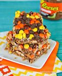 Peanut Butter Magic Cookie Bars Oh peanut butter lovers do I have a treat for you!  I've taken one of my favorite desserts, magic cookies bars, and packed them full of peanut butter flavor with Reese's...