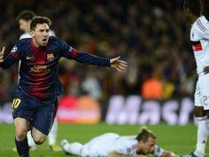 Espectacular primera parte del Barcelona ante un Milan que se vio sorprendido cuando solamente se llevaban seis minutos del encuentro, momento en el que Lionel Messi hizo el 1-0.