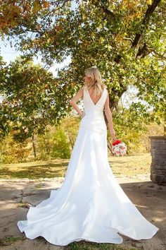 Fit and Flare Wedding Dress  Come on Eileen by thepeppermintpretty, $795.00