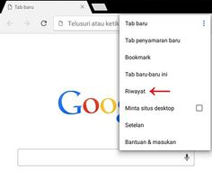 Cara Menghapus History Di Android Browser Chrome