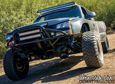 Wide stance long travel Chevy