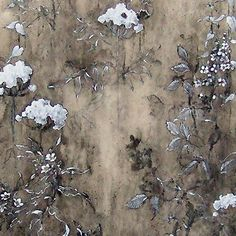 Henrik Simonsen: Delicate White   90 x 110 cm  oil and graphite on canvas  2009