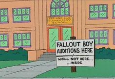 Esos avisos - Los Simpsons