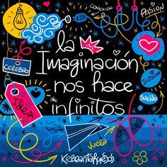 #Frases #Citas #Quotes #Imaginación #Infinito #Kebrantahuesos