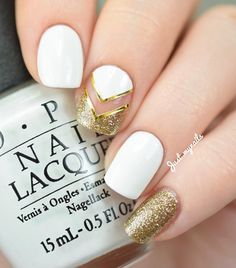 gold-nail-33 - 45 Gold Nails You Wish to Try