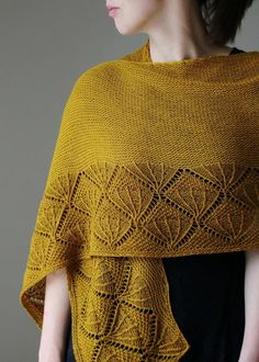 When your soul needs a little hug, cast on a decadent yarn and lose yourself in the meditative act of knitting.Caress My Soul is an elongated semi-circular shawl with a garter stitch body and a bold lace edging.Knit it for yourself as an act of self-care, or bless a friend with it as a gift.For even more of a happy lift, choose a gorgeous color like Olio Vergine, in Wollmeise's Blend.Pattern has been tech-edited and test knitted.The sample is shown in Wollmeise Blend. A suggested substitute…