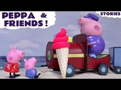 Peppa Pig Play Doh Ice Cream Toys and Surprise Eggs | Thomas and Friends Family Fun with Sofia - YouTube