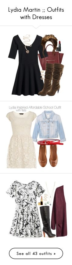 """Lydia Martin ;; Outfits with Dresses"" by marieh789 ❤ liked on Polyvore"