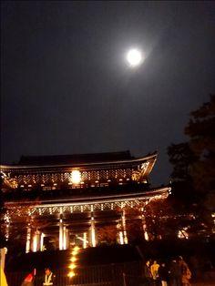 知恩院 ライトアップ 京都の紅葉 スーパ