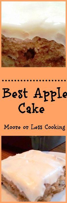 BEST APPLE CAKE