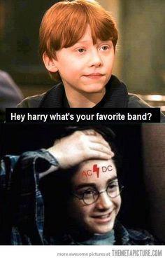 Harry's Favorite Band…