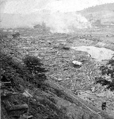 Johnstown Flood Photos 1889   Photo Gallery: Damage Done by the Johnstown Flood of 1889