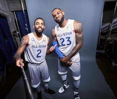 Kyrie and LeBron All Star Game 2017