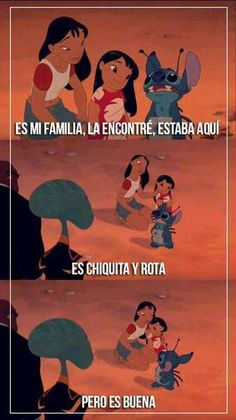 Read Parte Lilo y Stitch from the story Frases de Disney y otras ❤ by with reads. Funny Spanish Memes, Spanish Humor, Bff Quotes, Disney Quotes, Ohana, Disney Lessons, Lilo Y Stitch, Dance Choreography Videos, Character Quotes