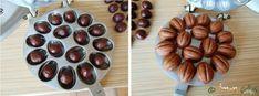 Nuci umplute cu ciocolata fragede si delicioase c Almond, Food, Magnets, Essen, Almond Joy, Meals, Yemek, Almonds, Eten