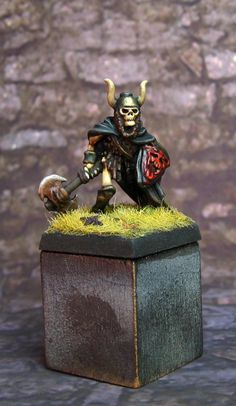 Citadel Miniatures FTS25 Skeleton with Haunted Axe and Shield