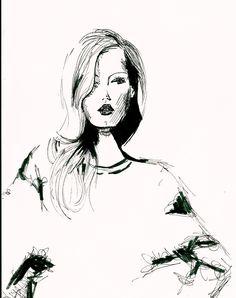 #fashionillustration #lindsaywixson #ink #drawing #rtw2015 #fallwinter2015 #rtw15 #evasyfert #drawing #fashionista #fashion #prefall2016 #preautumn #prefall #preautumn16 #fashionaddict #fashiondesign #fashiondiaries #fashionillustrator #fashionillustrations #fashionillustrators #fashionweek #illustration #evasyfert #fashioninspiration