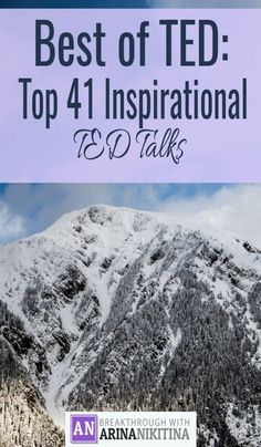best TED talks everyone who wants to be successful must watch!