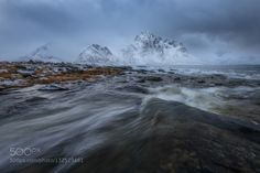 Popular on 500px : January Fjord by Arild_Heitmann