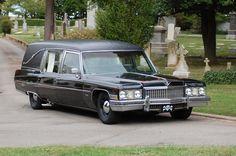 My '73 Cadillac Hearse
