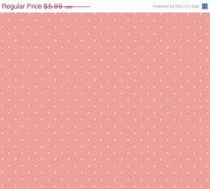 Petite White Fleur Spot on Pink Shabby by WallpaperYourWorld