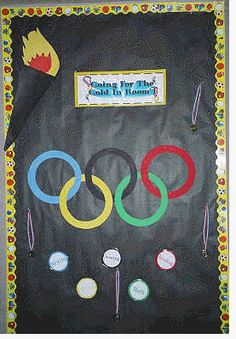 Olympics in the Classroom - Printables, Lessons, Ideas, & More from Teaching Heart School Classroom, Classroom Themes, Classroom Organization, Classroom Door, Future Classroom, Classroom Activities, Summer School, School Fun, School Days