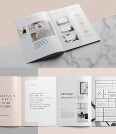 Today, we are sharing 20 Modern Brochure Design Ideas & Template Examples for Your 2019 Projects Brochure Design Samples, Company Brochure Design, Corporate Brochure Design, Creative Brochure, Brochure Design Inspiration, Business Brochure, Brochure Template, Design Ideas, Brochure Layout