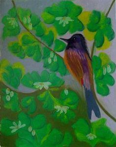 """Bublbul"" - Original Fine Art for Sale - ©Sonia Rumzi"